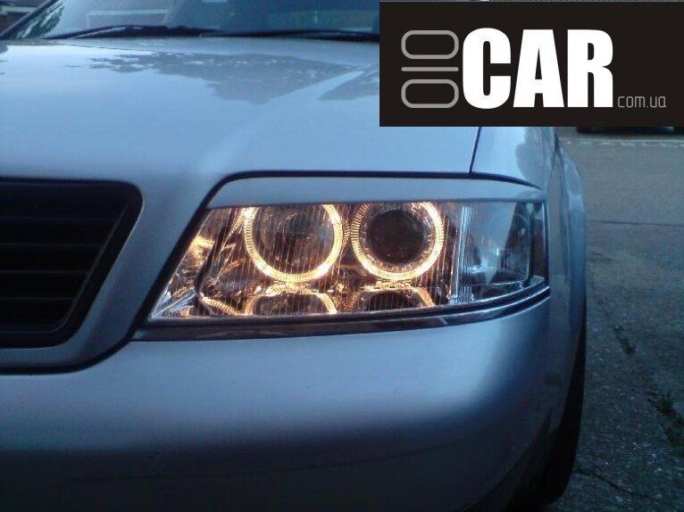 Audi a6 c5 фары светодиодные своими руками 22