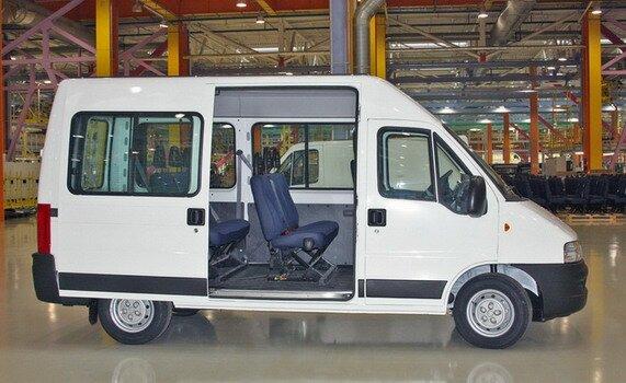 fiat ducato микроавтобус